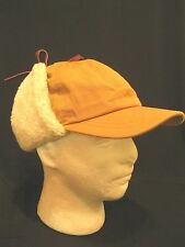 Vtg  Woolrich canvas Hat Cap Hunting  With Flaps - VGC