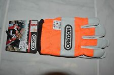 1 Oregon 91305M safety chainsaw protective gloves Medium size 9 cm kevlar