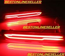 1 Pair For Baleno / Ciaz / Brezza Car Rear Bumper Reflector Light tail Brake Led