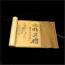 Collection of Chinese Old scroll painting on silk: the Water margin NER056