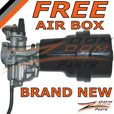 SUZUKI LT 50 LT50 CARBURETOR & AIR FILTER BOX 1984 1985 1986 1987 ATV Carb