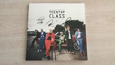 Teen Top Autographed Teen Top Class album signed by all members and Message Card