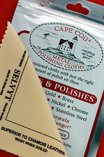 2 packs Cape Cod® Polish & 2 Selvyt® Cloths for High Polish Watches