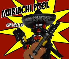 Lego SERIES 16 Mariachi minifigure + Custom Marvel Heroes Unmasked DEADPOOL