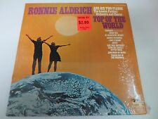 """RONNIE ALDRICH AND HIS TWO PIANOS TOP OF THE WORLD 12"""" SEALED VINYL LP RECORD"""