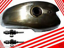 Benelli Mojave Cafe Racer 260 360 Petrol Fuel Gas Tank + Pair of Brass Taps