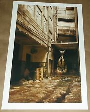 Warmer Air giclee Jeremy Geddes art print poster dove space man astronaut