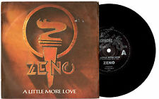 "ZENO - A LITTLE MORE LOVE - RARE PROMO 7""45 VINYL RECORD PIC SLV 1986"