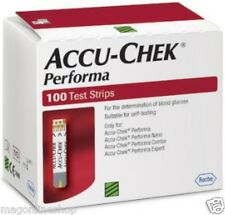Jan 18 Exp 100 Test Strips Accu Chek Performa Sugar Blood Glucometer Fresh Stock