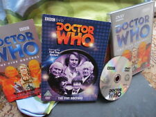 DOCTOR DR WHO - The Five Doctors DVD -  Special Edition - Dr Who RARE SLIPCASE