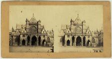 Photo Albuminé Stéréo Paris ? Vers 1860