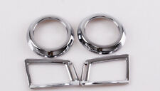 For TOYOTA RAV4 2013 2014 2015 Chrome Interior Air Vent Frame Cover Trim 4pcs