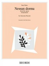 Nessun Dorma from the opera Turandot Sheet Music The Three Tenors NEW 050600005