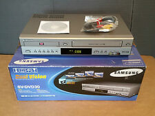 SAMSUNG Dual Vision - DVD & VCR DUAL Player & Recorder / S-VHS MP3 SVCD CD-R/RW