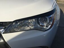 2015-2017 Camry Headlight Eyelid Overlays Pre-Cut Eye Brows Gloss Black