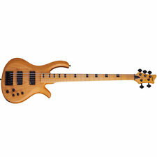 Schecter Riot-5 Session Aged Natural Satin ANS *New* 5-String Bass + FREE BAG