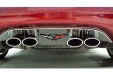 C5 Corvette 1997-2004 Exhaust Filler Panel w/ Logo - Stock Exhaust