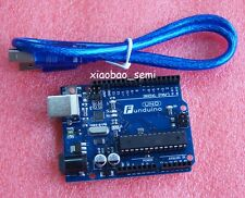 Funduino UNO R3 ATMEGA328P-PU + ATMEGA16U2 Board USB CABLE for Arduino