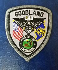 GOODLAND, INDIANA POLICE (SMALL) SHOULDER PATCH IN