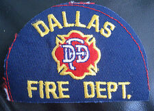DALLAS FIRE DEPARTMENT EMBROIDERED SEW ON PATCH TEXAS UNIFORM DFD