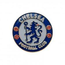 Chelsea Fc Badge Blue & White Metal Football Club Crest Team Supporter Fan New