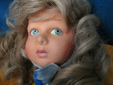 "Stunning, 28"" tall, (53cms.) jointed felt child doll, ""Stefania"", by Lenci, Tori"