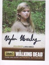 Walking Dead season 4 pt.1 autograph auto card KK1 Kyla Kenedy