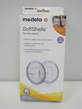MEDELA SoftShells for Sore Nipples BPA Free 2 softshells