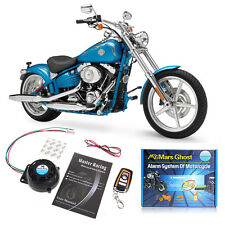 Motorcycle Bike 12V Anti-theft Security Alarm System Remote Control Engine Start
