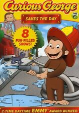 Curious George: Saves the Day (2012, REGION 1 DVD New) AWS