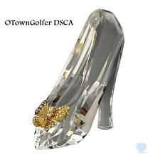 "DISNEY PARKS AUTHENTIC ""CINDERELLA FACETED CRYSTAL SLIPPER"" BY ARRIBAS"