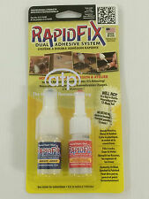 RapidFix Instant Adhesive. For Metal , Rubber , Plastic. Cold Welds in Seconds