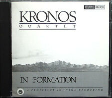 Kronos Quartet: in formazione The Funky Chicken Junk Food Blues DARK Razz when CD