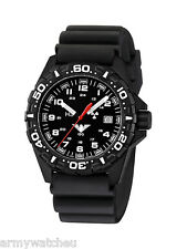 KHS Tactical Watches Red Reaper H3 Military Field Watch Date Diver Band Black
