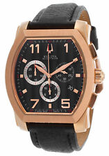 Swiss Made Accutron by Bulova 64B114 Stratford Chronograph Rose Gold Men's Watch