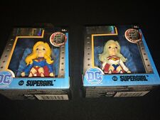 "LOT X 2  VARIATIONS SUPERGIRL JADA 2.5"" DC COMIC GIRLS METALS M385 M384 RT35"