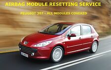 PEUGEOT 307 AIRBAG MODULE RESET SERVICE