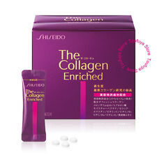 New Shiseido The Collagen Enriched Supplement For Beauty 4 Tablets x 60 packs