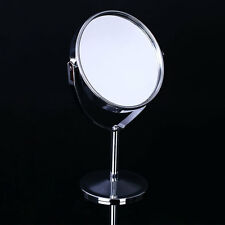 Women Makeup Round fashion Double-Side Normal Magnifying Desktop Stand Mirror