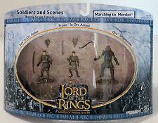 Señor De Los Anillos ejércitos de la Tierra Media: soldados & escenas Marchando A Mordor
