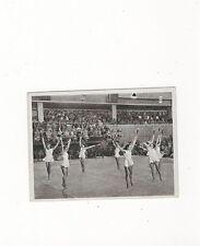 13/820 SAMMELBILD DDR  SOMMERSPIELE 1952 HELSINKI- GYMNASTIK UNGARNS MÄDCHEN