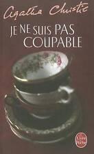 Je Ne Suis Pas Coupable (Le Livre de Poche) (French Edition)-ExLibrary