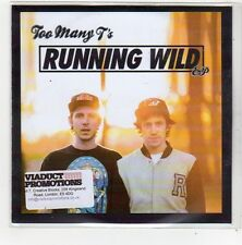 (FN550) Too Many T's, Running Wild EP - 2014 DJ CD