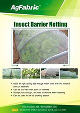 Agfabric 6.5'-Wx10'-L Mosquito Netting, Bug Insect barrier Bird Net Barrier