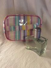 RARE!! AVON 'Individual Blue for Her' Perfume (tester) and Toiletry Bag