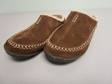 SOREL SLIDES SLIP ON SLIPPERS SUEDE SHERPA LINED WOMEN'S SIZE 5
