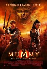 The Mummy movie poster (b) Tomb Of The Dragon Emperor, Jet Li  - 11 x 17 inches