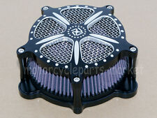 Edge Cut Air Cleaner Intake Filter For Harley Touring Softail Dyna Rocker Glide