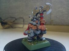 WARHAMMER FANTASY- DWARF W/TWO HANDED AXE-DWARFS-DWARVES-PAINTED-GW