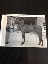 L1-3 Ephemera 1968 Small Picture Horse Racing Col W Stirling Burglar